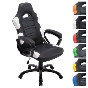 Bürostuhl Ricardo Xl Belastbar 150 Kg Racing Sport Gaming - King Chairs Chefsessel