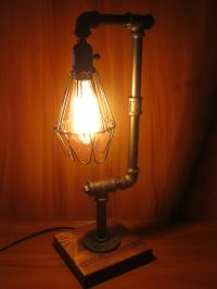 Industrial Pipe Table Lamp | www.imgkid.com - The Image ...