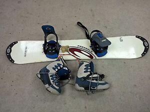 Burton Step In Elan Snowboard Burton Step Inboots