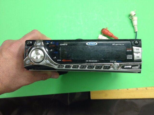 Jensen CD4610 CD Player In Dash Receiver eBay