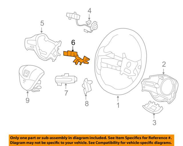 Honda OEM 06-11 Civic Steering Wheel-wiring Support 78515SVAA01 eBay