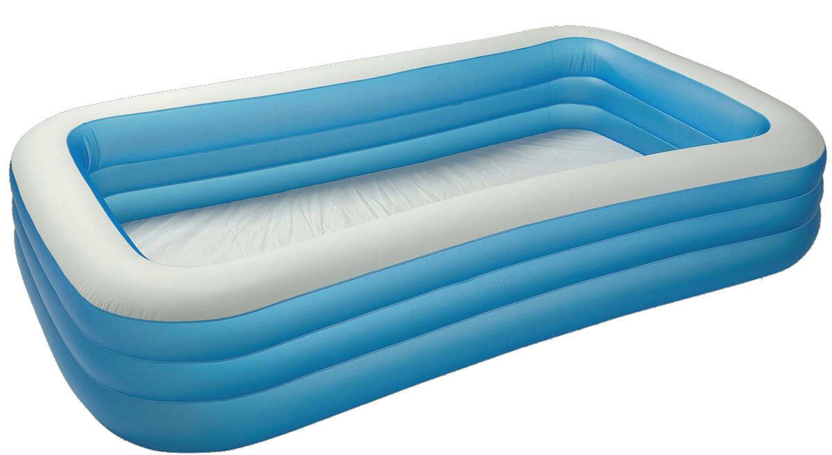 Jumbo Pool Abdeckplane Intex Swim Center Jumbo Family Pool Schwimmbad Schwimmen Baden