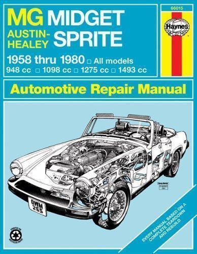 Haynes Manuals MG Midget, Austin-Healey Sprite, 1958-1980 No 265