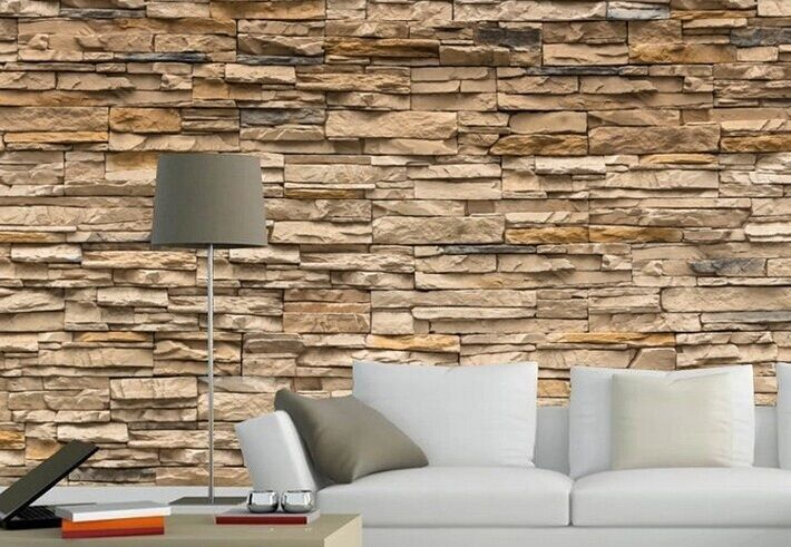 3d Stone Wallpaper Malaysia 3d Wallpaper Bedroom Living Mural Roll Modern Faux Brick