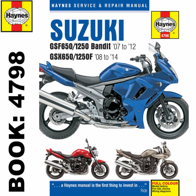 Suzuki Bandit Owners Manual Gsf650