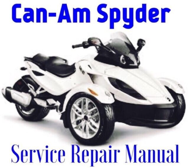 2016 Can-am Spyder RS RT St Service Repair Manual Parts Wiring