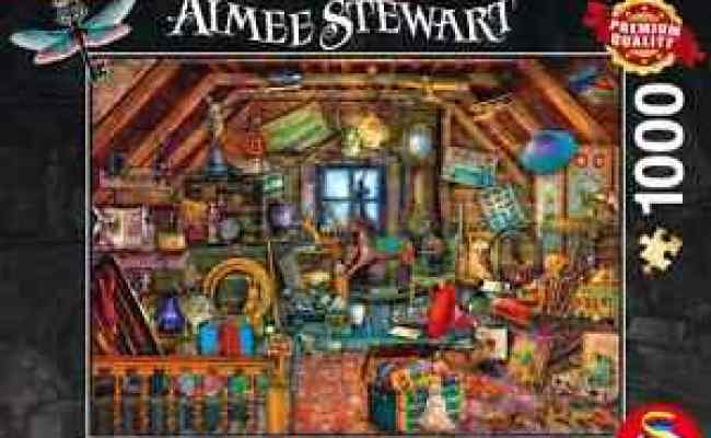 Schmidt Jigsaw Puzzle Treasures In The Attic Aimee Stewart