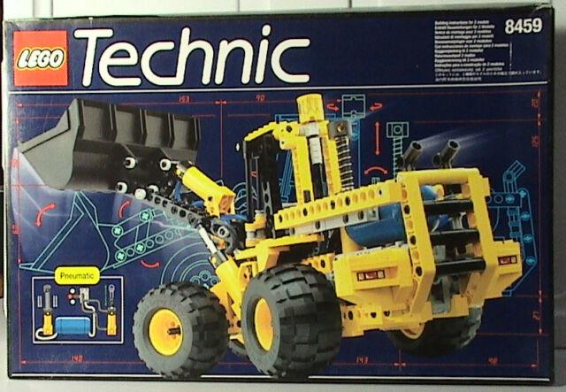Lego Technic Construction 8459 Pneumatic Front End Loader eBay