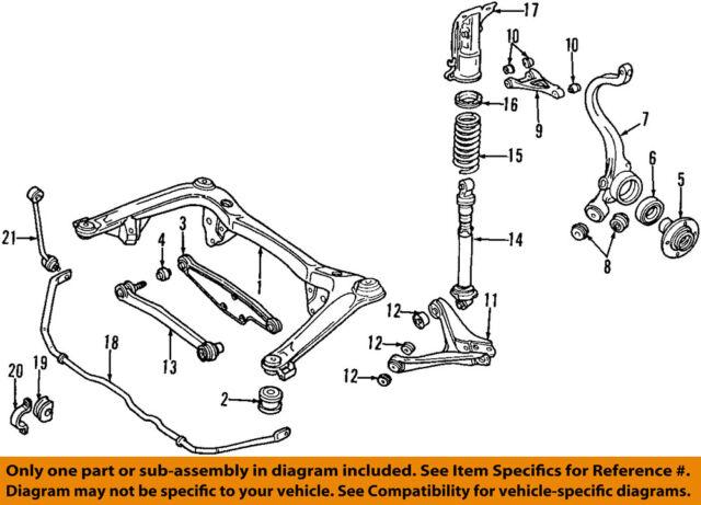 A4 Quattro Rear Suspension Diagram On Infiniti 2001 Engine Diagram