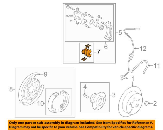 Genuine Hyundai Parts Brake Pads 58302 3qa10 for sale online eBay