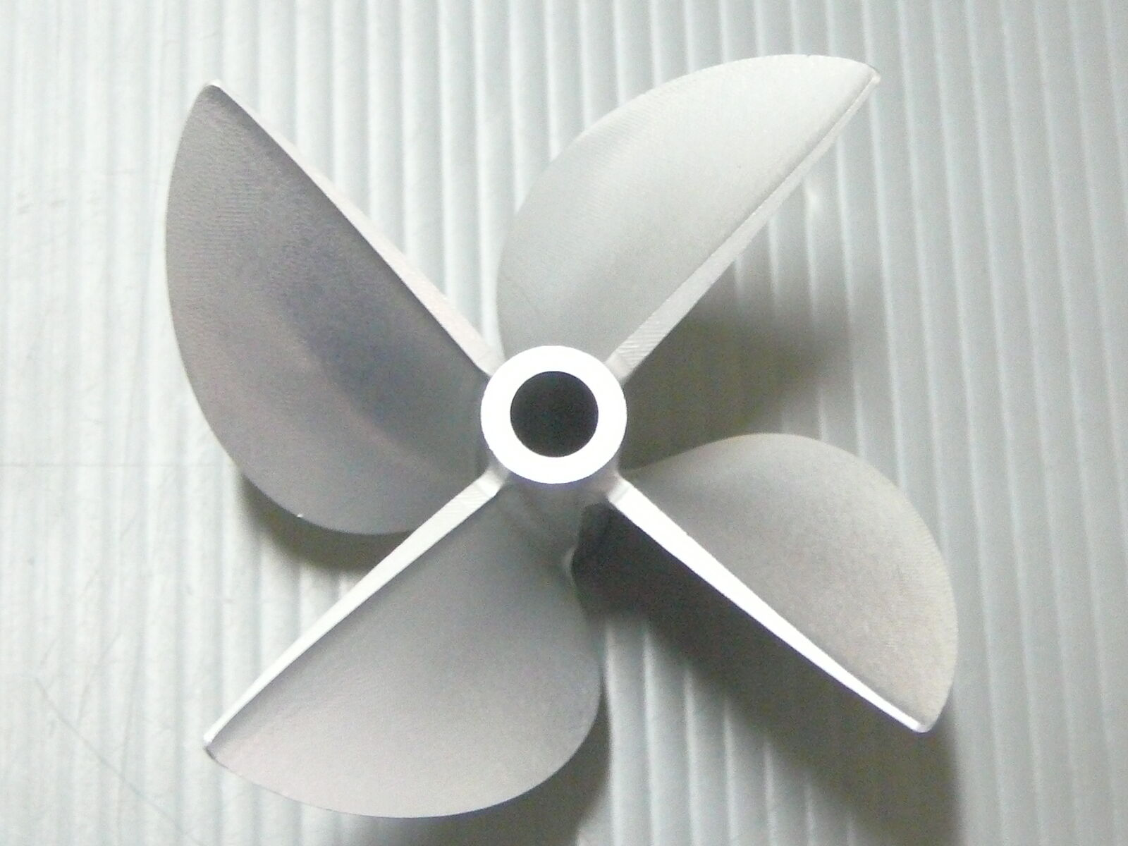 Modellbau 4 Leaves Dia 67mm P1 7 Rc Boat Aluminum Alloy Propeller With 1 4