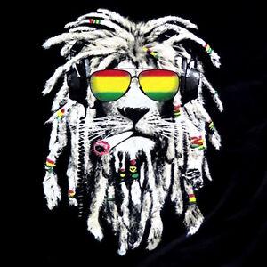 Ganja Girl Wallpaper Rasta Lion Reggae Smoke Blunt Marijuana Weed Mens 100