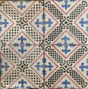 Vietri Piastrelle 20x20 Decorate A Mano In Cotto - Ebay Piastrelle 20x20
