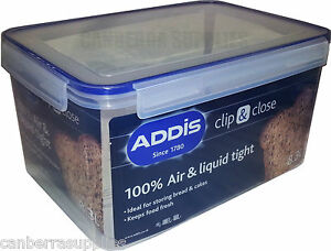 Addis Clip Close Rectangular Food Storage Container 83l