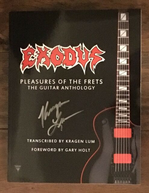 Exodus Pleasures of The Frets The Guitar Anthology Tab Book - metallicaguitar tabs