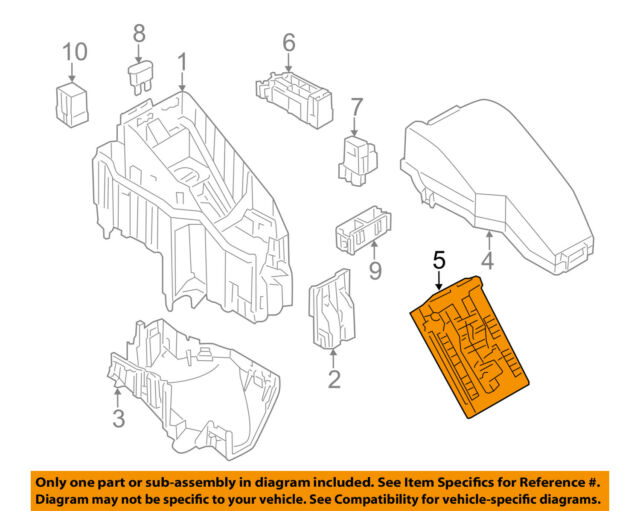2009 Nissan Altima IPDM 284b7 1aa0a Fuse Power Module For Salenissan