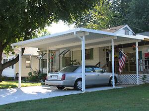 2039 X 2439 Free Standing Aluminum Carport Kit 032 Or