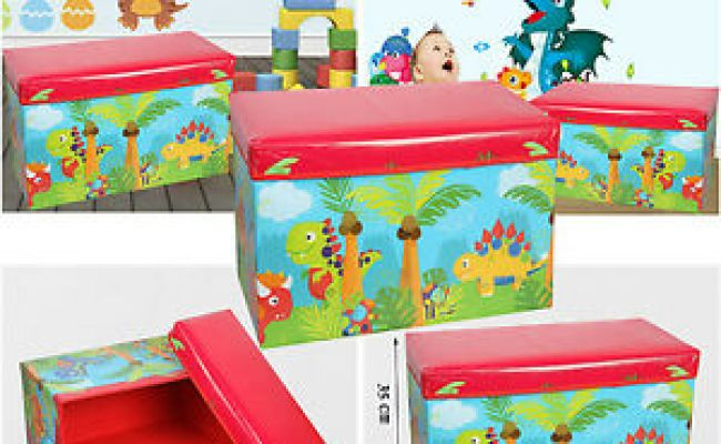 Kids Childrens Large Storage Toy Box Boys Girls Books