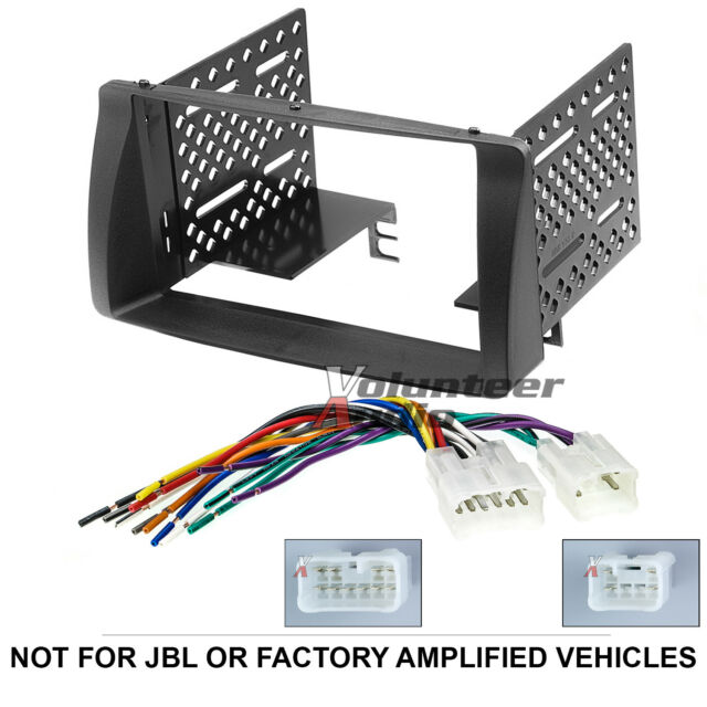 JVC Kwv140bt Double DIN Car Stereo Radio Install Dash Kit Wiring