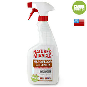 Nature39s Miracle Hard Floor Pet Stain Odor Remover For