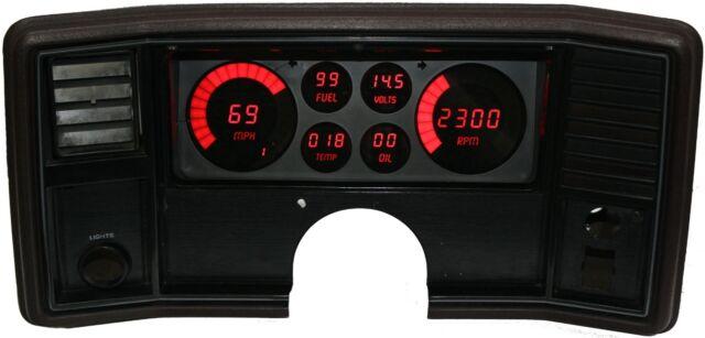 Intellitronix DP9002R LED Digital Dash Kit 1978-1988 El Camino
