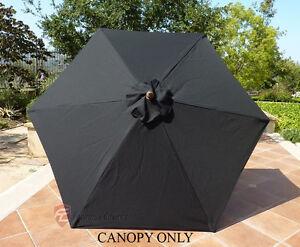 9ft Patio Garden Market Umbrella Replacement Canopy Cover