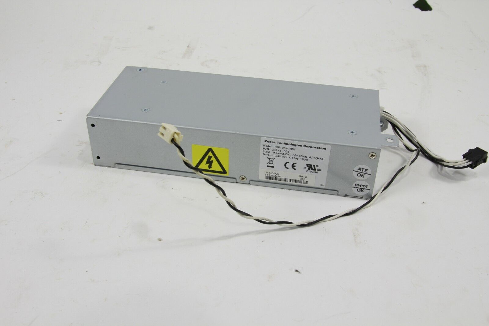Zebra S4m Power Supply Kit Model Fsp100 1h01 G29600m Other Printer Scanner Accs Computers Tablets Networking Pumpenscout De