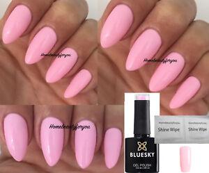 Bluesky Pn01 Pastel Neon Baby Pink Nail Gel Polish Uv Led