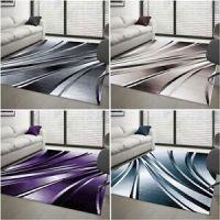 Moderner Design Teppich Abstrakt Carpet Kurzflor ...
