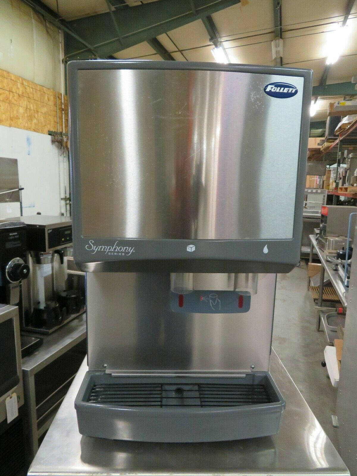 Follett 12ci400a S Symphony Countertop Ice And Water Dispenser 400 Lb For Sale Online Ebay