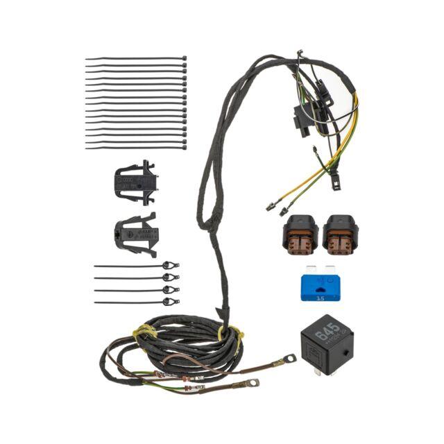 VW Volkswagen Beetle Fog Light Lamp Wire Wiring Harness Kit OEM