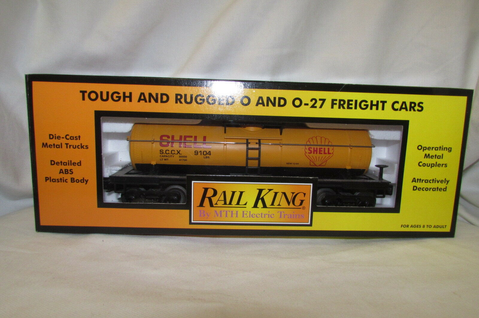 Bärenland Onlineshop Rail King M T H Electric Shell Fuel Tanker Tank Car In Box 30
