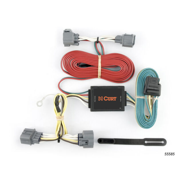 CURT Custom Vehicle-to-Trailer Wiring Harness 55585 for 06-14 Honda
