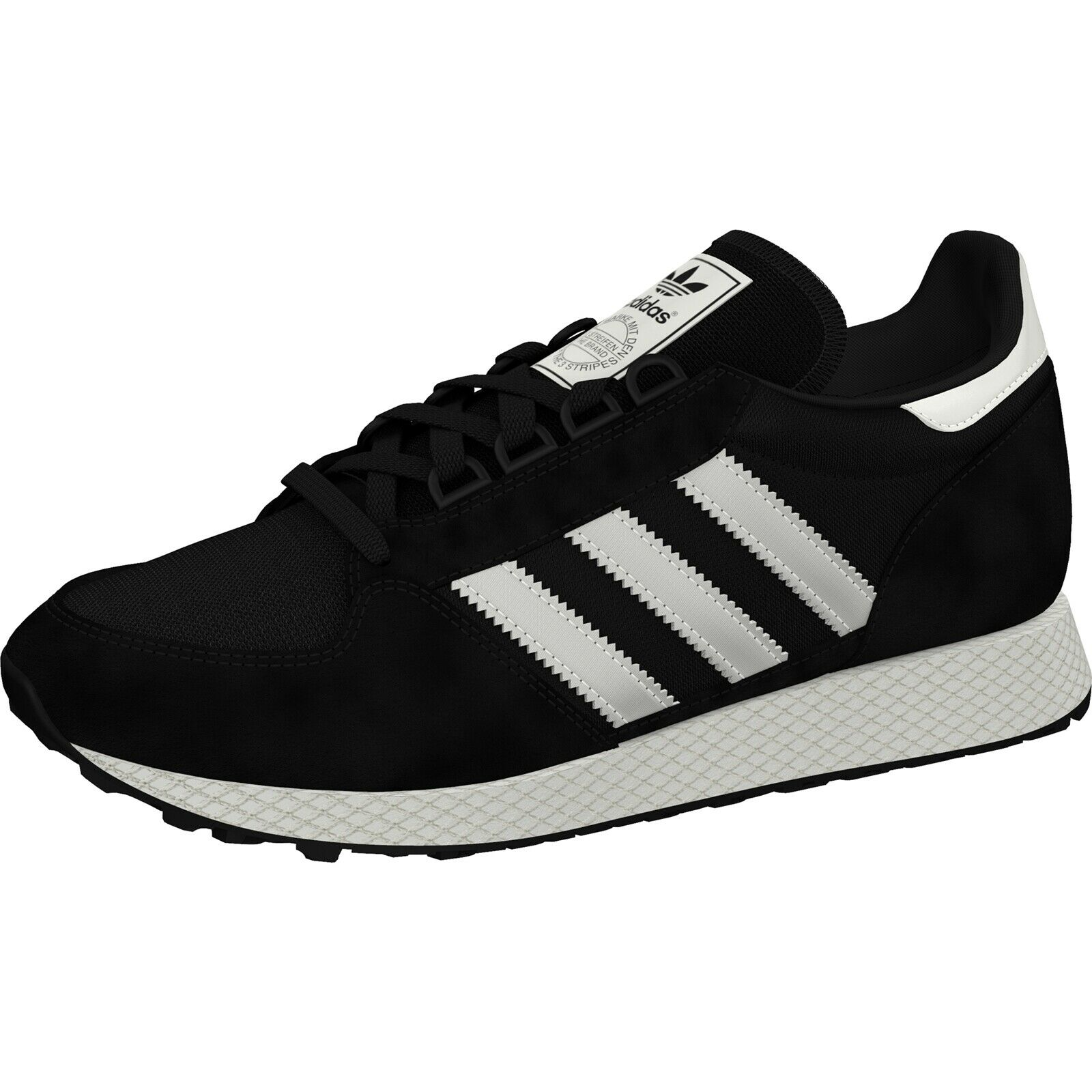 Herren Sneakers Adidas Originals Indoor Super Herrenschuhe Lifestyle Schwarz Weiß B41523 Omnia Ae