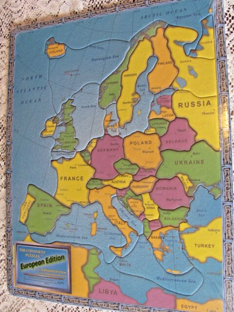 a Broader View The Continent Puzzles European Edition NISP for sale