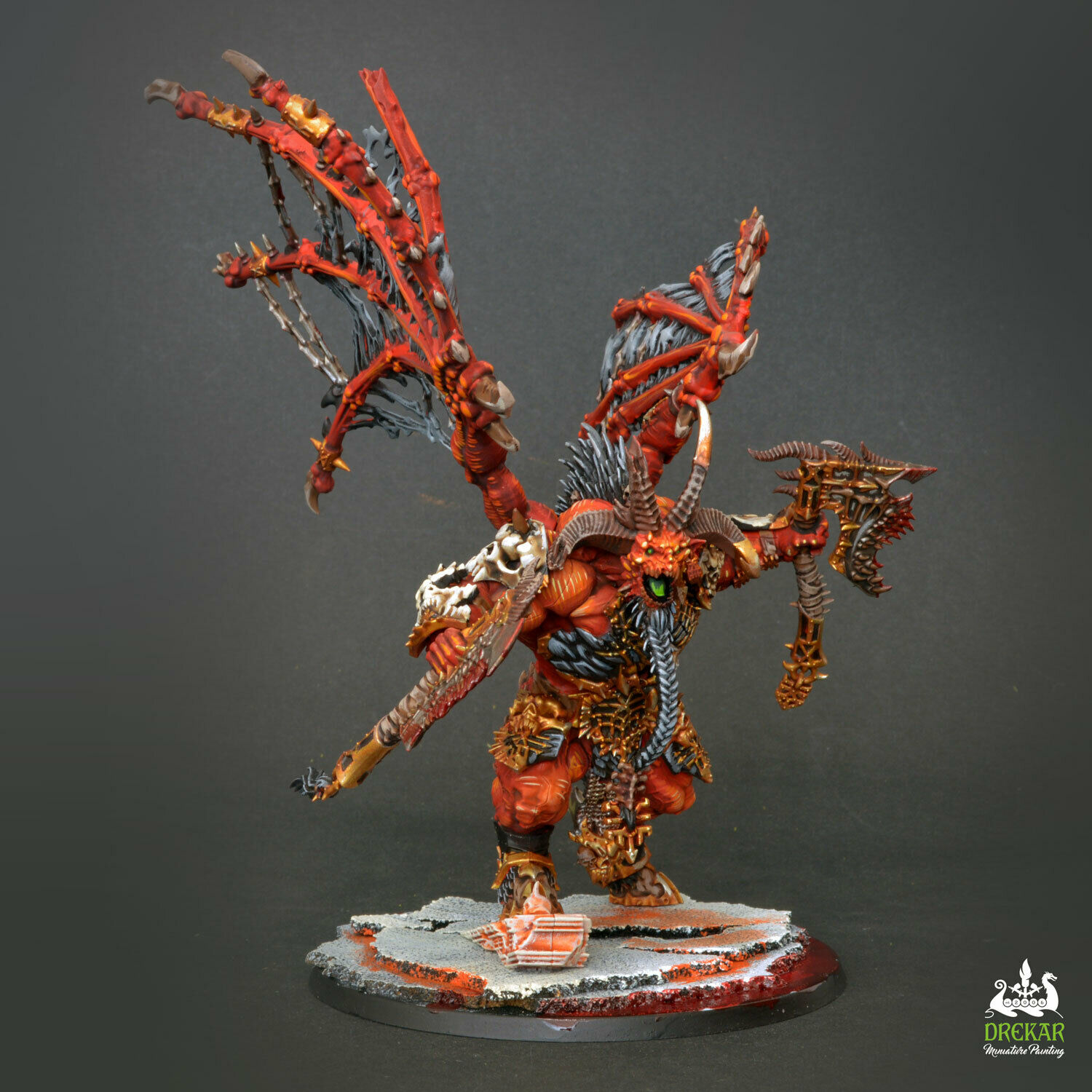 Bennys Chaos Küche Skarbrand Blades Of Khorne Chaos Age Of Of Of Sigmar Commission