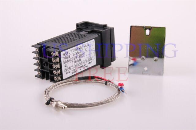 1pcs 110-240v Rex-c100 Digital PID Temperature Controller Kit