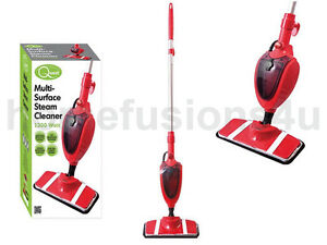 Quest Red Multi Surface Steam Mop Cleaner Bathroom Tiles