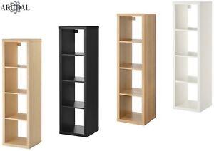 Ikea Kallax Shelving Unit Birch Effect Black Brown Oak