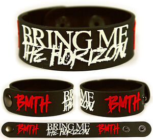Bring Me The Horizon Rubber Bracelet Wristband Can You