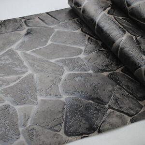 3d Effect Stone Brick Wall Textured Vinyl Wallpaper Self Adhesive 3d Rock Nature Rustic Vinyl Embossed Textured Effect Stone