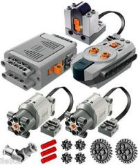 Lego Power Functions SET 4 (technic,motor,receiver,remote ...