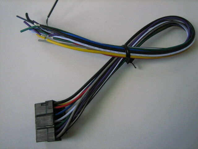 Jensen DVD Screen Wire Harness Plug Vm8022 Vm8023hd for sale online