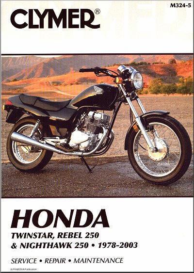 Honda CM185 CM200 CM250 CB250 CB CM 185 200 250 Nighthawk Rebel