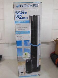 Bionaire Ultra Slim Fan Combo 2pack Tower Fan Personal