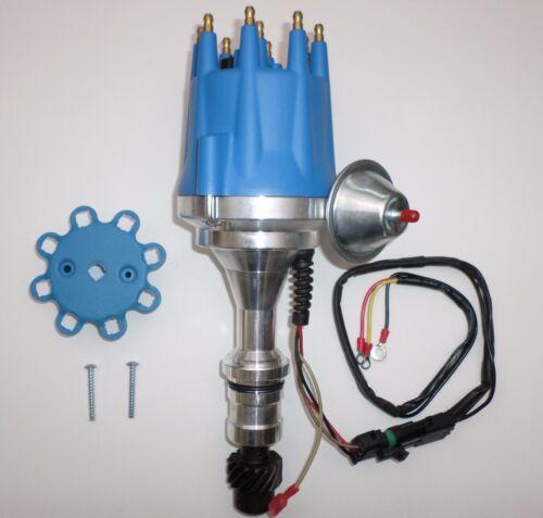 SMALL CAP OLDSMOBILE 350,400,403,455 HEI BLUE Distributor + SPARK