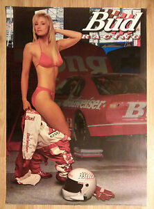 St Pauli Girl Wallpaper Sexy Girl Beer Poster Bud Budweiser From Auto Racing