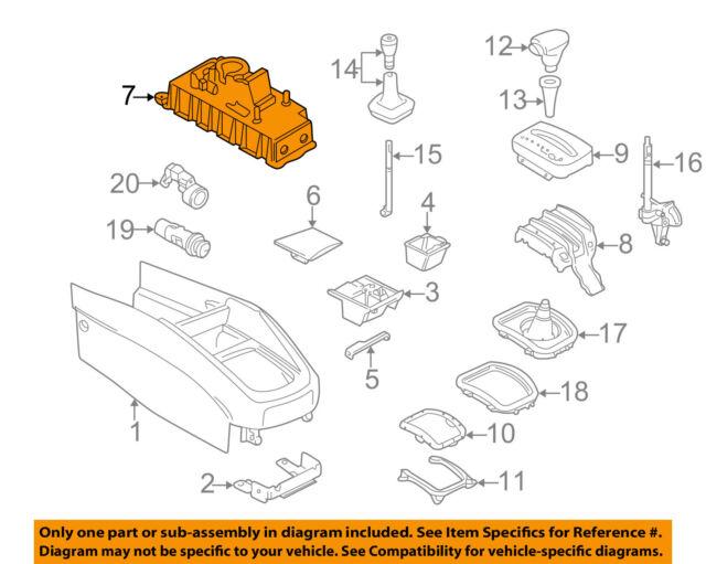 Volkswagen Beetle Shifter OEM 5 Speed Factory Gear Selector VW
