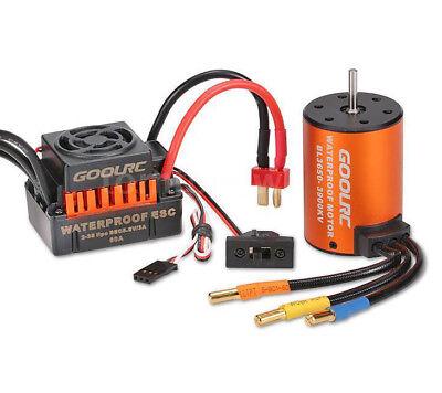 1/10 Rc Car Brushless Esc  Motor For Ecx Torment Circuit Amp Ruckus