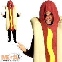 Giant Deluxe Hot Dog Adults Fancy Dress Fun Food ...